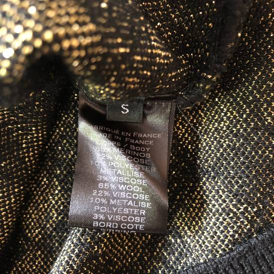 Balmain RARE RUNWAY Balmain Paris Black & Gold Wool Glitter Sweater Size US S / EU 44-46 / 1 - 4