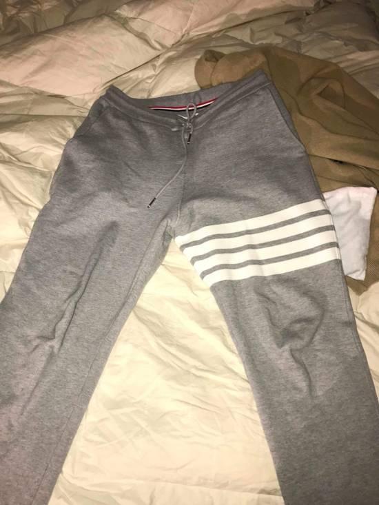 Thom Browne Grey Sweatpants Size US 32 / EU 48