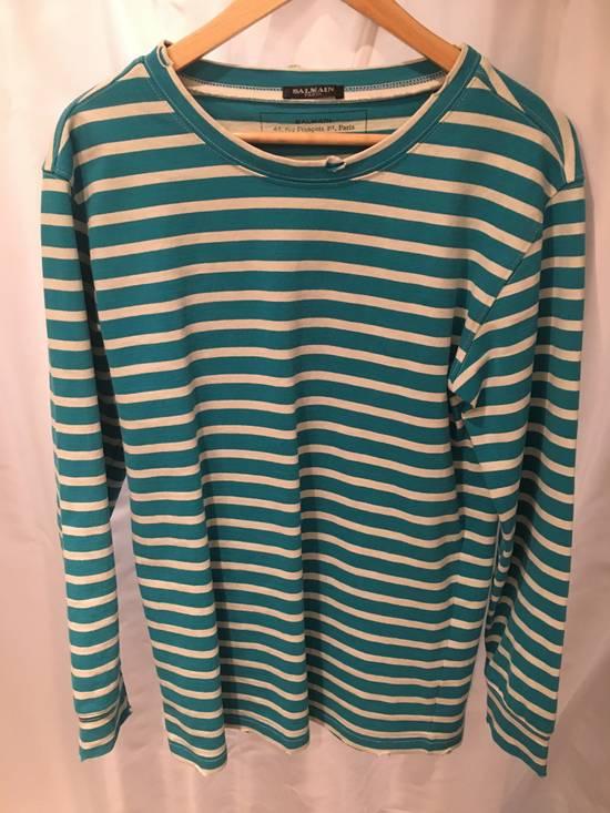 Balmain Balmain Decarnin Stripe L/S Shirt Size US S / EU 44-46 / 1