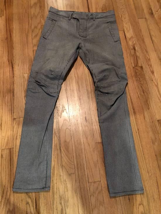 Balmain Balmain Biker Pants Houndstooth Size US 32 / EU 48