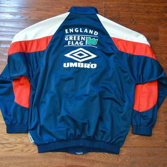 Umbro Vintage 90s Umbro England Track Jacket Size US L / EU 52-54 / 3 - 2