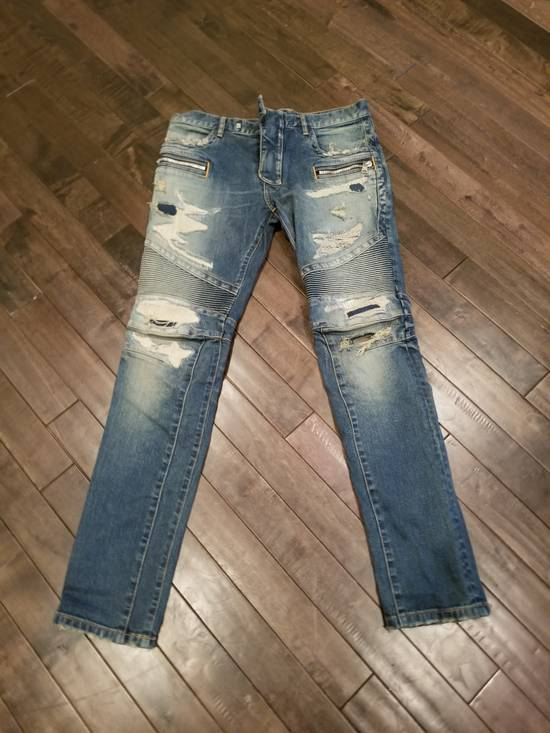 Balmain Distressed denim Size US 33