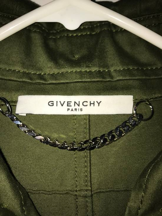 Givenchy Green Wings Print Parka Size US L / EU 52-54 / 3 - 1