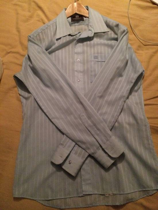 Givenchy Givenchy Baby Blue Button Up Shirt Size US L / EU 52-54 / 3