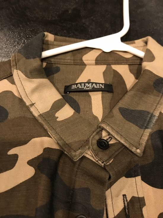 Balmain BALMAIN PARIS Camo Dress Shirt Size US L / EU 52-54 / 3 - 1
