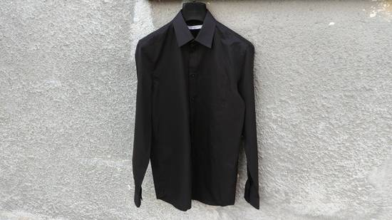 Givenchy Givenchy Black Chest Pocket Plain Rottweiler Shark Men's Shirt size 39 (M) Size US M / EU 48-50 / 2
