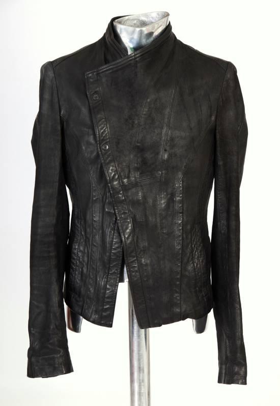 Julius Julius Dove Tail Leather Jacket EU46 Small Size 2 S/S 2012 Size US S / EU 44-46 / 1 - 9