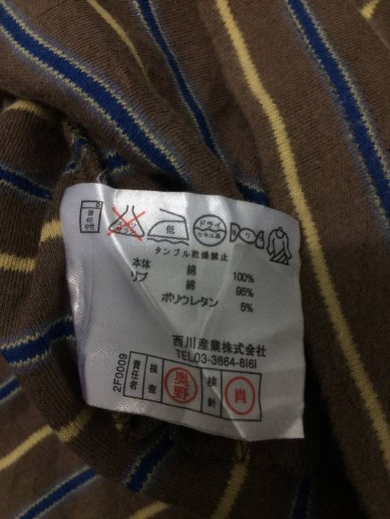 Balmain Stripe Pocket L/Sleeve Shirt BALMAIN Large Japan. Size US L / EU 52-54 / 3 - 4