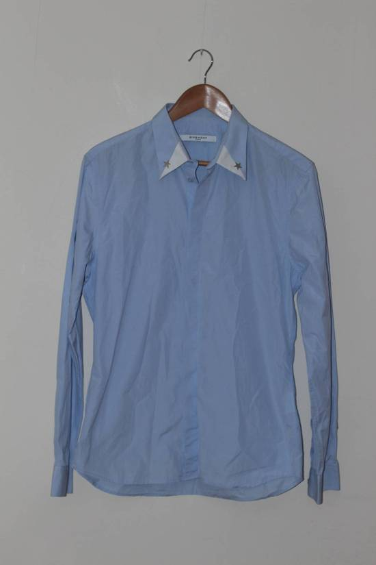 Givenchy Blue Star Dress Shirt Size US L / EU 52-54 / 3