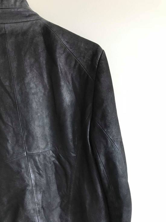 Julius julius_7 patchwork nubuck lambskin leather jacket Size US S / EU 44-46 / 1 - 3