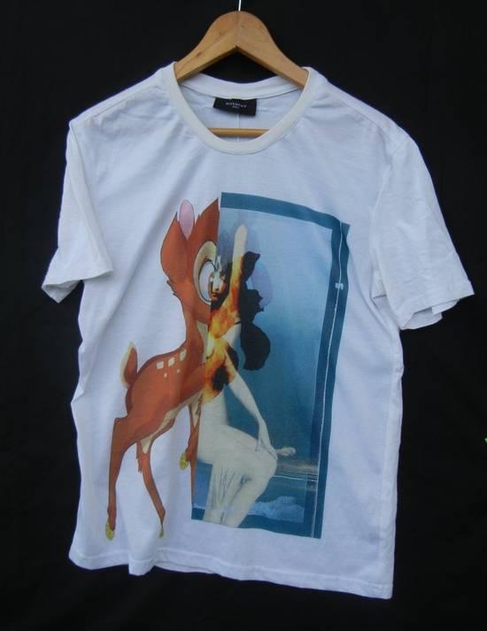 Givenchy Givenchy Bambi Print Rottweiler Stars White Tee Sz Medium Size US M / EU 48-50 / 2
