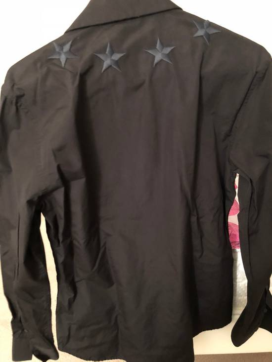 Givenchy Givenchy Black Embroidered Stars Shirt Size US L / EU 52-54 / 3 - 1
