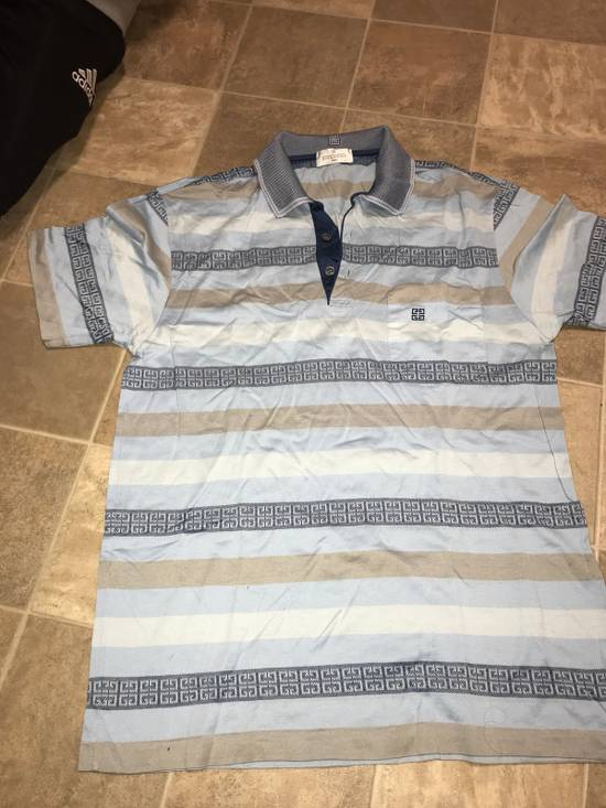 Givenchy Givenchy Polo | Blue and Gold Size US L / EU 52-54 / 3