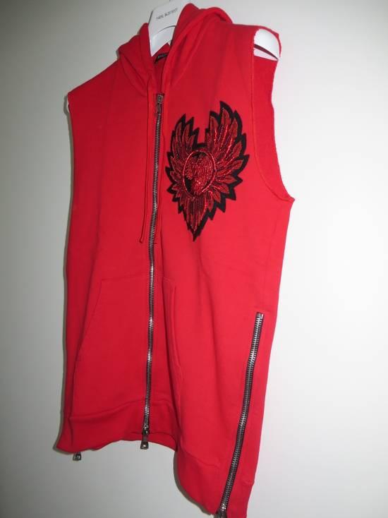 Balmain Sleeveless hoodie with Badge Size US M / EU 48-50 / 2 - 2