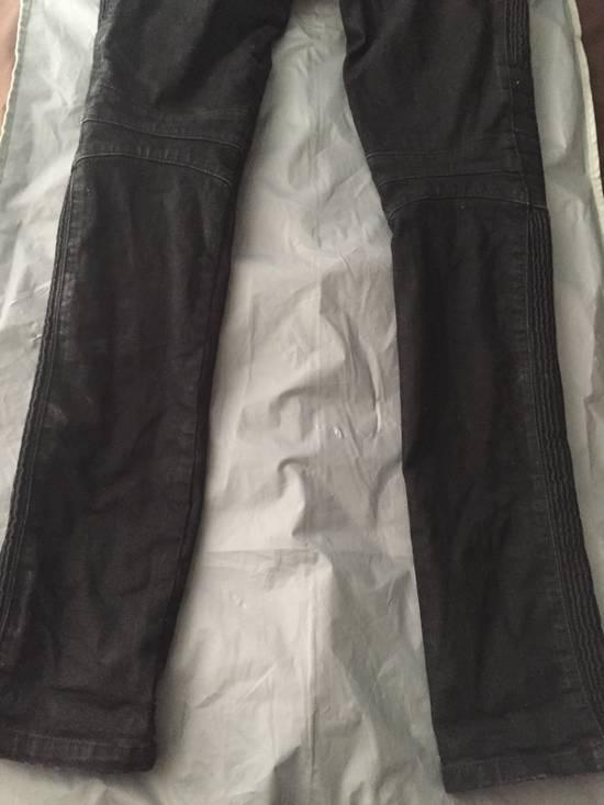 Balmain Balmain black coated biker size 28 Size US 28 / EU 44 - 4