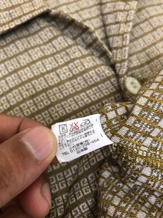Givenchy Monsieur Givenchy Classic Logos All Over Striped Button Shirt Made in Japan Size US M / EU 48-50 / 2 - 9