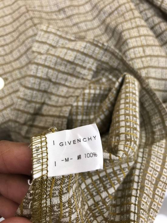 Givenchy Monsieur Givenchy Classic Logos All Over Striped Button Shirt Made in Japan Size US M / EU 48-50 / 2 - 8