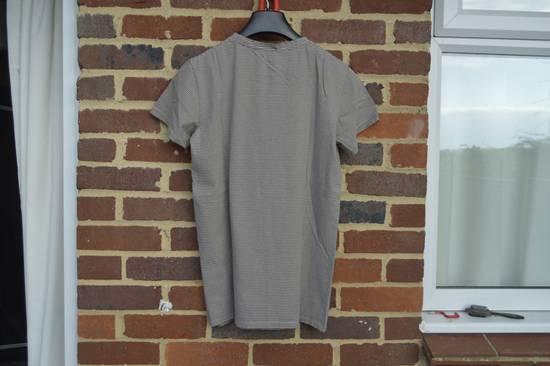 Balmain Distressed Striped T-shirt Size US M / EU 48-50 / 2 - 6