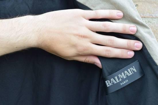 Balmain Balmain Authentic $1890 Cotten Biker Jacket Size M Brand New Condition Size US M / EU 48-50 / 2 - 6