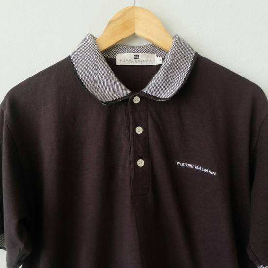 Balmain [LAST DROP] PIERRE BALMAIN Polo Shirt Rare!! Vintage Authentic Size US L / EU 52-54 / 3 - 2