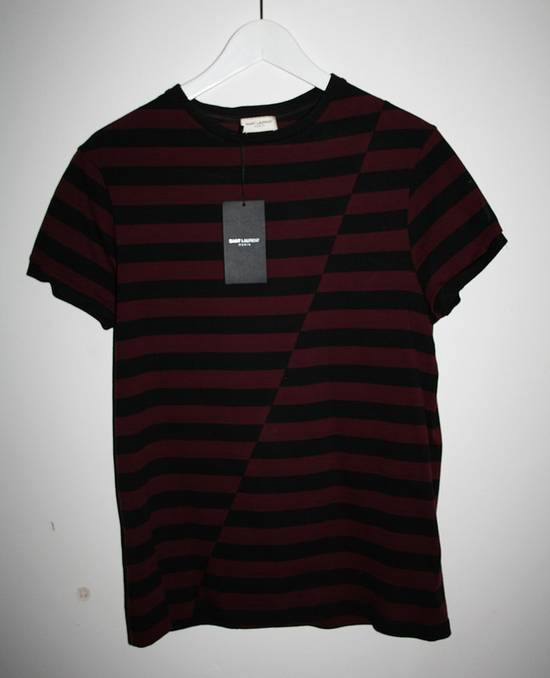 Saint laurent paris saint laurent striped t shirt size s for Saint laurent paris t shirt