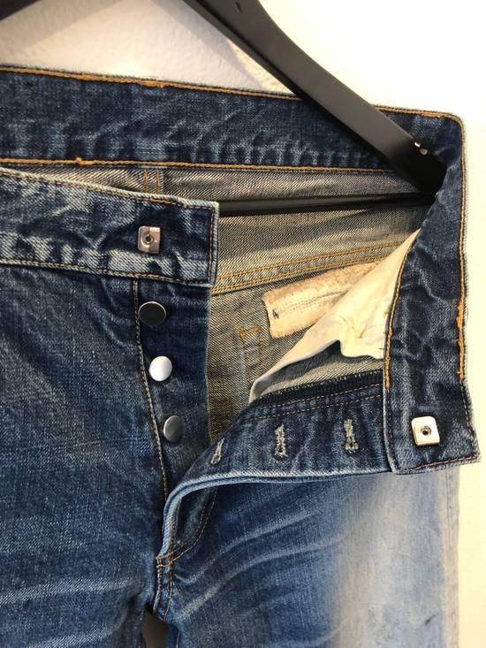 Balmain Distressed Jeans Blue Size US 31 - 5