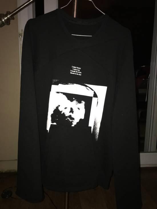 Julius Knives size 1 printed sweatshirt with kangaroo pocket and large sleeves Size US S / EU 44-46 / 1