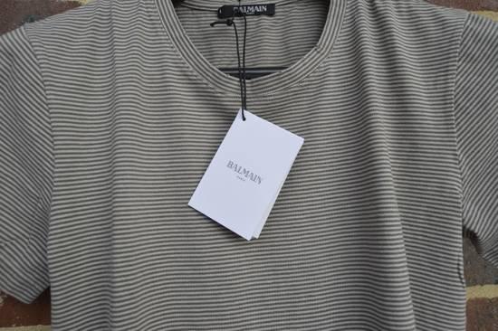 Balmain Distressed Striped T-shirt Size US M / EU 48-50 / 2 - 3