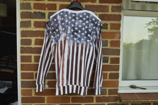 Balmain Flag and Logo Print Sweater Size US L / EU 52-54 / 3 - 11