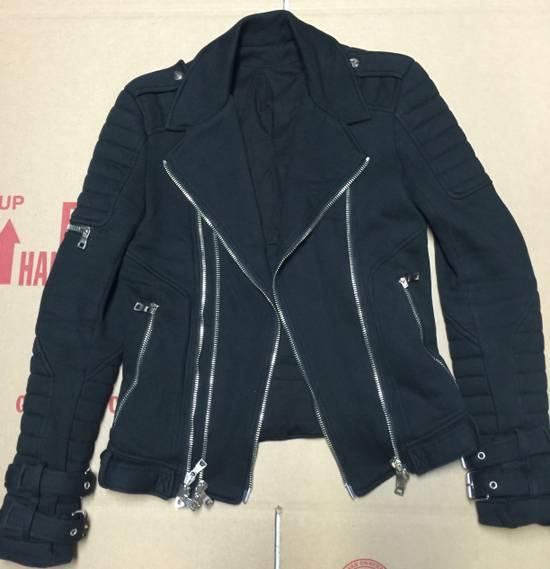 Balmain Balmain Cotton Biker Jacket Size US XS / EU 42 / 0 - 1