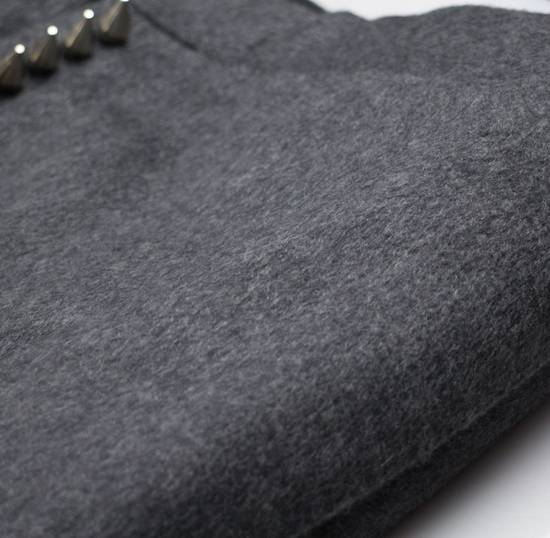 Thom Browne Gray Cashmere W/ Metal Spikes Casual Pants Size US 38 / EU 54 - 3