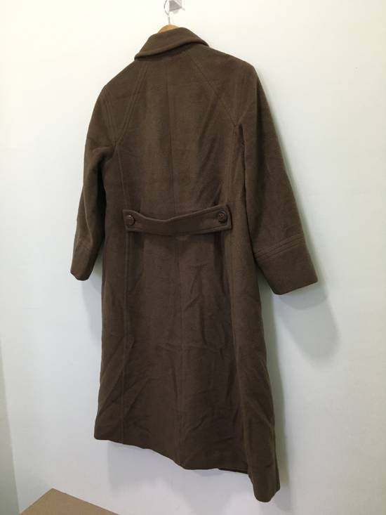 Balmain Vintage Pierre Balmain Paris Wool Long Coat Jacket Camel Brown Size US S / EU 44-46 / 1 - 9