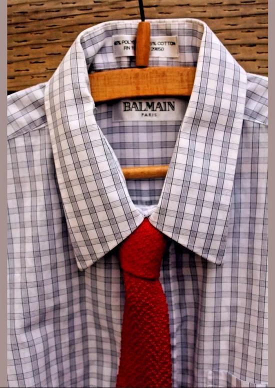 Balmain Balmain Dress Shirt Size US XL / EU 56 / 4 - 1