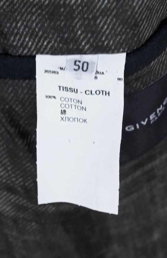 Givenchy Black Cotton Moleskin Blazer Size US L / EU 52-54 / 3 - 4