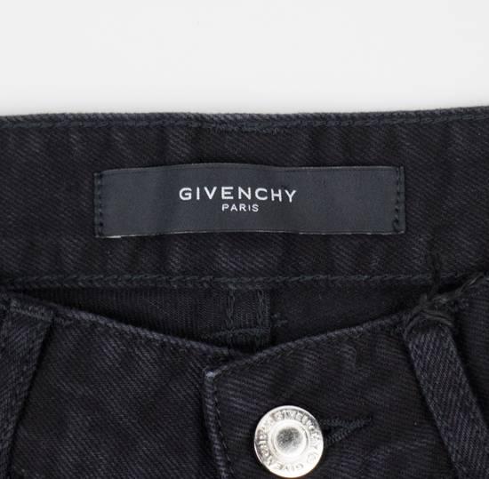 Givenchy Black Cotton Denim Jeans Pants Size US 32 / EU 48 - 6