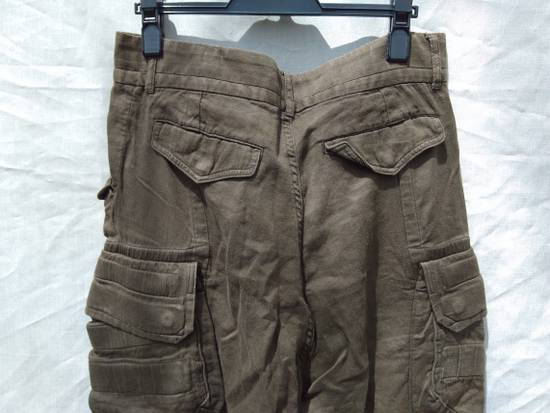 Julius Green Linen Blend Gas Mask Cargo Pants Size US 30 / EU 46 - 6