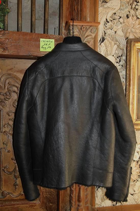 Balmain AW12/13 Shearling Biker Jacket Size US M / EU 48-50 / 2 - 6