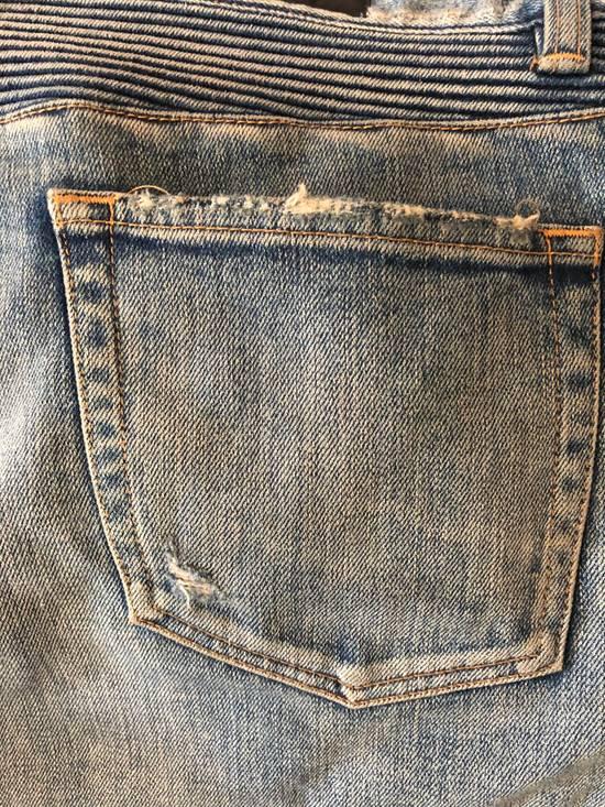 Balmain Balmain disrtressed biker jeans Size US 36 / EU 52 - 9