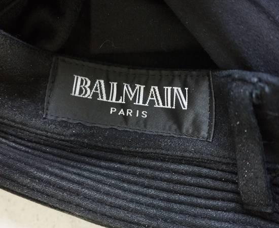 Balmain BALMAIN FW2009 Mens Black Coated Biker Denim Pants Sz 33 Decarnin Era Size US 33 - 7