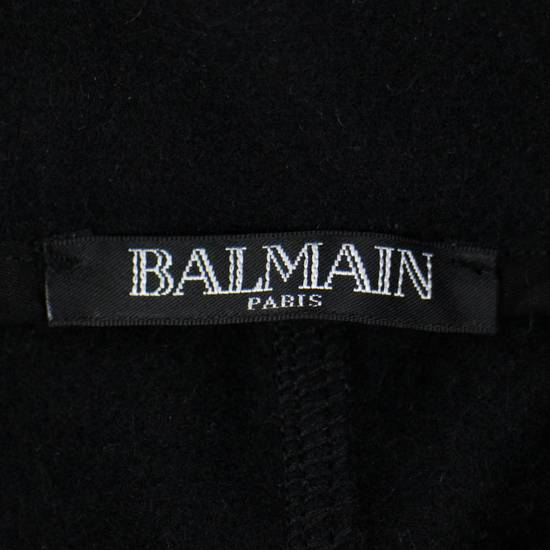Balmain Men's Black Cashmere with Drawstrings Jogger Pants Size Large Size US 36 / EU 52 - 5