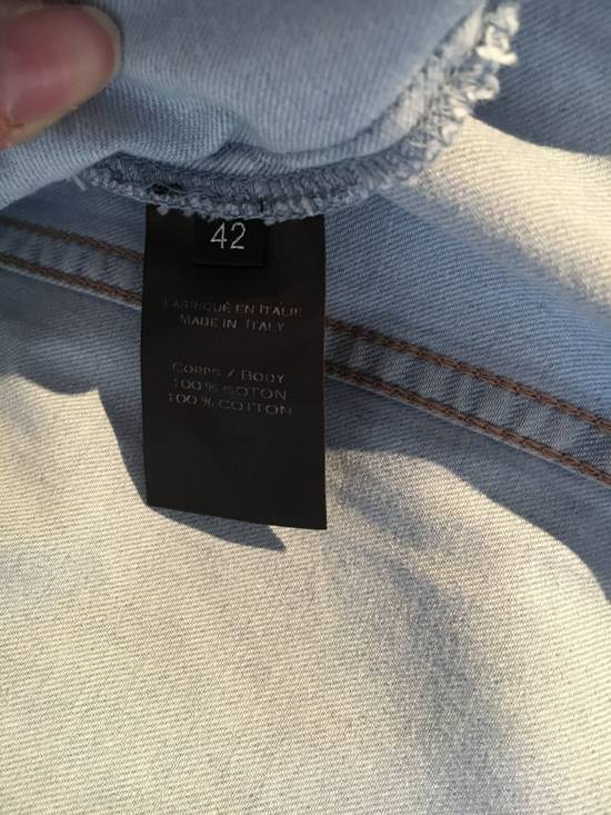 Balmain Balmain Mao Collar Denim Shirt Size US XXL / EU 58 / 5 - 5