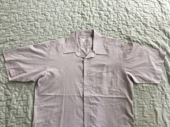 Balmain Vintage PIERRE BALMAIN Paris Plaids & Checks Striped Casual Workwear Shirt Tee Size US L / EU 52-54 / 3 - 2