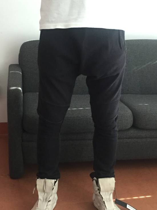 Balmain Drop Crotch Biker Sweatpants Size US 30 / EU 46 - 9