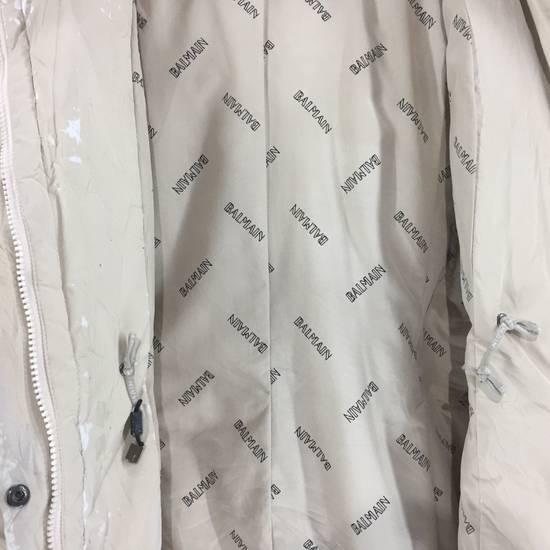 Balmain LUXURY!! BALMAIN Paris Monogram Down Jacket Puffer Jacket / Fall & Winter Hypebeast Jacket / Balmain Raincoat Size US L / EU 52-54 / 3 - 4