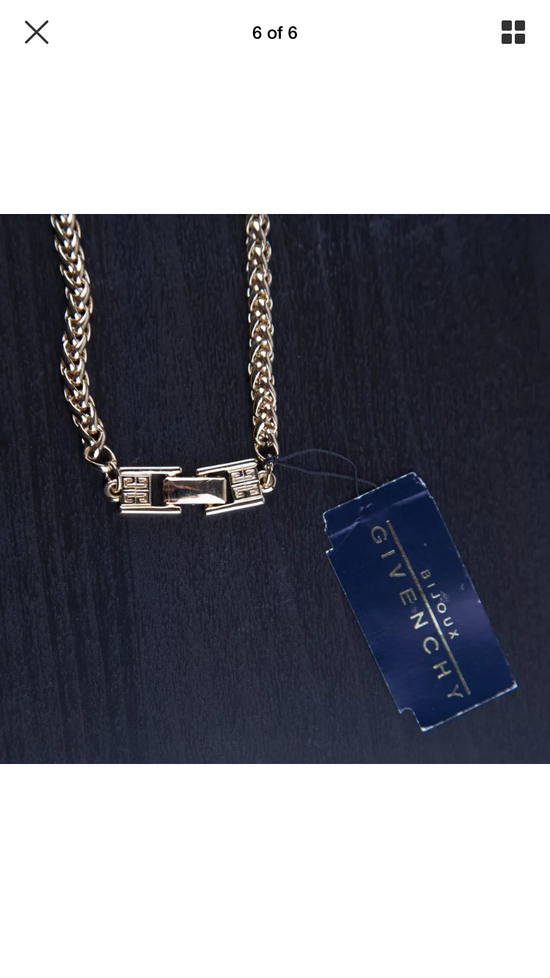 Givenchy 1994 Givenchy Bijeaux Gold Necklace Size ONE SIZE - 4