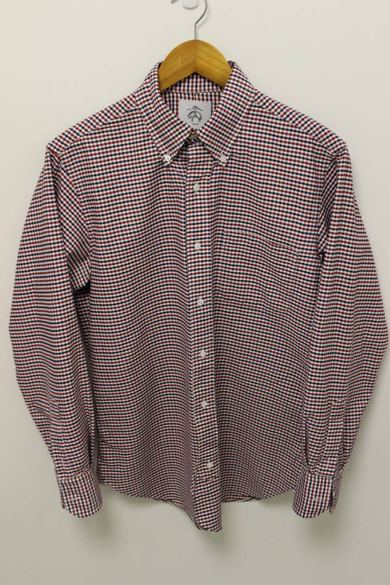 Thom Browne Black Fleece Checkered Oxford Shirt BB2 Size US M / EU 48-50 / 2