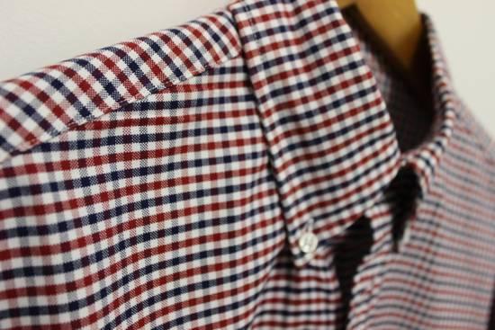 Thom Browne Black Fleece Checkered Oxford Shirt BB2 Size US M / EU 48-50 / 2 - 2