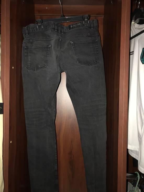 Balmain Balmain 2017 Black Denim Jeans Size US 34 / EU 50 - 1