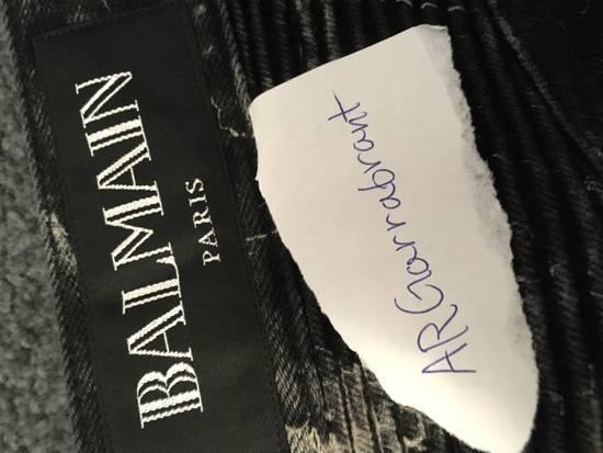 Balmain Balmain Marble Print Skinny Jeans Size US 29 - 6