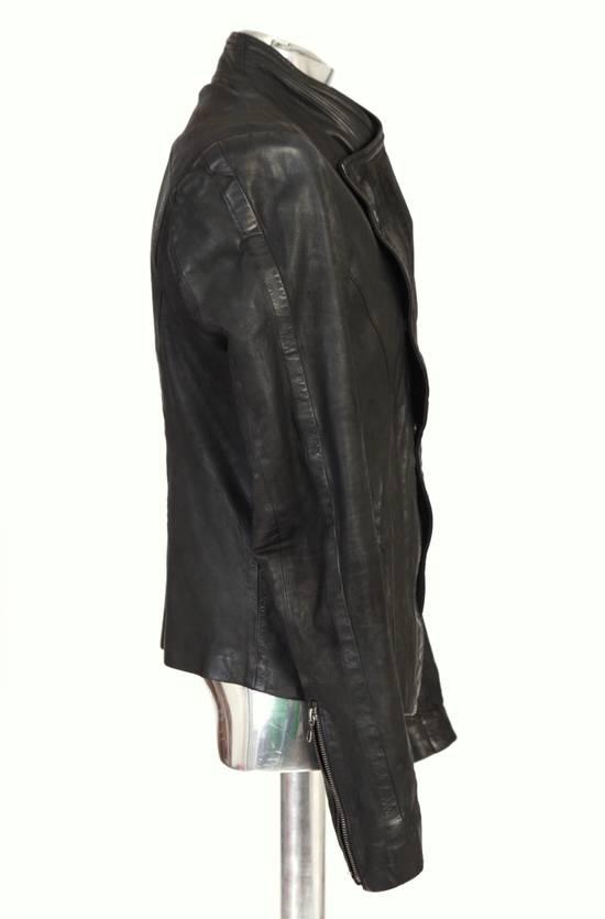 Julius Julius Dove Tail Leather Jacket EU46 Small Size 2 S/S 2012 Size US S / EU 44-46 / 1 - 12